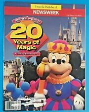 "DISNEY WORLD ""20 YEARS OF MAGIC"" From the publisher of Newsweek Fall/Winter 1991"