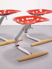 1 (von 2) Zanotta Mezzadro chair / Hocker, design A. & P. Castiglioni 1957