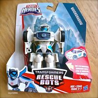 Transformers RESCUE BOTS QUICKSHADOW Race Car PLAYSKOOL HEROES Hasbro NEW Female