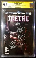Dark Nights: Metal #3 CGC SS x4 Francesco Mattina Variant Edision (DC 2017)
