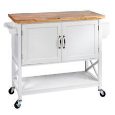Solid Wood Kitchen Islands & Carts