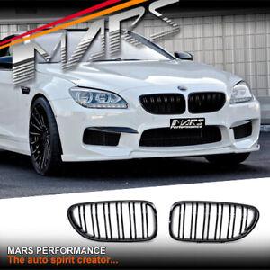 Gloss Black Bumper Bar Grille Grill for BMW 6 Series F06 F12 F13 & M6 Bodykit