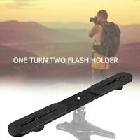 Camera Bracket Hot Shoe Arm Bracket Tripod Stand Holder SLR Black For DSLR N4M6
