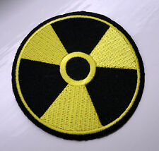 P3 WMD Radioactive Hazard Danger Radiation Warning Symbol Iron on Patch