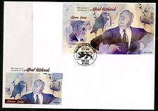 SIERRA LEONE 2015 35th MEMORIAL OF ALFRED HITCHCOCK  S/S  FIRST DAY COVER