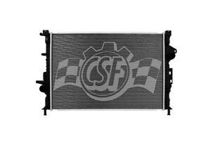 Radiator-1 Row Plastic Tank Aluminum Core CSF 3812 fits 14-19 Ford Escape