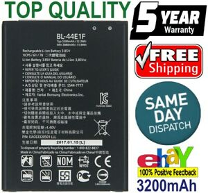 New Battery Fits With LG V20 STYLO 3 BL-44E1F LG Replacement V20 H910 H918 V99