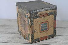 Antique Loose Wiles Biscuit Co Sunshine Biscuit Advertising Tin Original Label