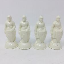 Vtg ES Lowe Renaissance Chess Pieces Lot of 4 Replacement Pawns White