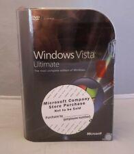 Microsoft Windows Vista Ultimate NEW & Sealed - 32 & 64 bit