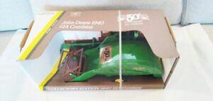 John Deere farm toy combine 50th Anniversary  12 A  NIB