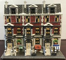 Dept 56 Christmas In The City Series: Sutton Place Brownstones Heritage Village