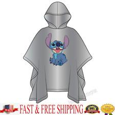 Disney Adult Stitch Rain Poncho Clear Disney Poncho Original