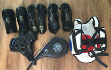 Child Youth Taekwondo Martial Arts Sparring Gear & Equipment Pads Target Lot