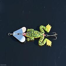 BuzzBait     1/4 oz    Frog     Green / Yellow Belly