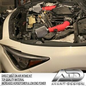 2014 2015 For INFINITI Q50 3.7L 3.7 V6 AF DYNAMIC AIR INTAKE KIT RED