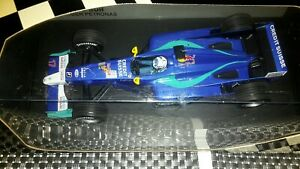 1/18 Kimi Raikkonen 2001 Sauber Launch Car Minichamps ULTRA RARE 800pcs...