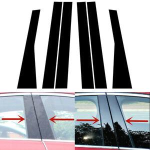 6 x Säulenpfosten Tür Fensterverkleidung Abdeckung Für Jeep Grand Cherokee 11-21