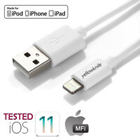 3 6 10FT Apple MFI Certified Lightning Cable Charger for iPhone XS Max XR 8 Plus