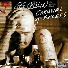 Gg Allin - Carnival of Excess [New CD] in shrink wrap