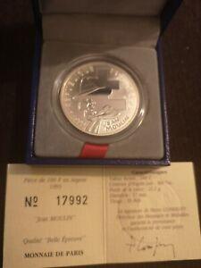 Pièce De 100 Francs 1993 Jean Moulin