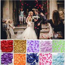 400PCS Silk Rose Petal Flower Confetti Engagement Celebration Wedding Decor US