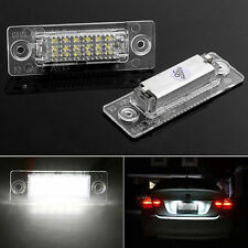 2x 18 LED License Plate Number Lights Car Lamp For VW Golf Jetta Caddy Touran T5