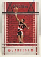 Clyde Drexler 2015-16 Panini Excalibur Jamfest SILVER Parallel #'d 19/70 BLAZERS