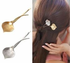 GOLD Leaf Pearl Hair Clip Jewellery Wedding Boho Goth Punk Latest Hair pin Bride