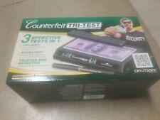 New listing Dri-Mark Tri Test Counterfeit Bill Detector Uv with Pen 7 x 4 x 2 1/2 351Tri