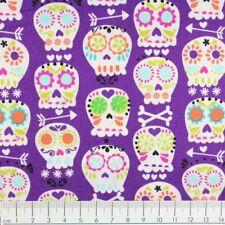 Baumwollstoff Totenkopf Michael Miller fabrics Stoffe USA Patchworkstoffe