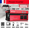 4000W DC12V à AC220V LED Digital Display Power Inverter Onduleur Convertisseur