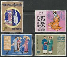 Vietnam 1970 #370-73 Traditional Costumes - MNH