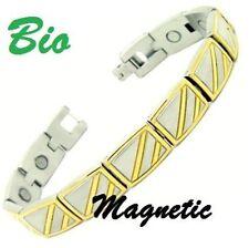 Energia Magnetico Bracciale ALIMENTAZIONE SALUTE BIO BRACCIALE POLSINO MAGNETE Braccialetto