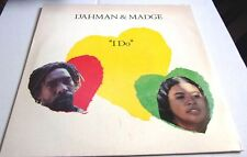 "IJAHMAN & MADGE I DO c/w ANCIENT LOVER  JAHMANI LABEL 12"" REGGAE SINGLE TOP COPY"