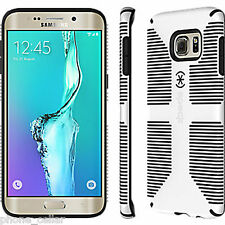 New Speck CandyShell Grip White/Black Case Shell Samsung Galaxy S6 Edge+ Plus