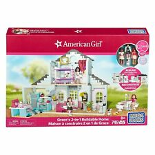 NEW Mega Bloks American Girl Grace's 2-in-1 Buildable 2 Home 749 pcs Age 8+ Bag