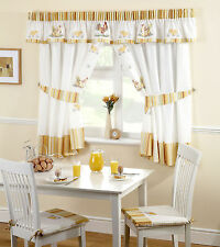 Polyester Farmhouse Pencil Pleat Curtains & Pelmets