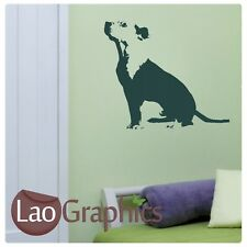 New listingTerrier Dog Wall Stickers Transfer Graphic Decal Vinyl Stencil Large Home Art Uk