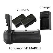 Meike MK-5D3s BG-E11 Battery Grip for Canon 5D mark 3 III 5Ds 5Ds R + 2Pcs LP-E6