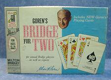 1964 Goren's Bridge For Two (2 Part Dummy Rack Ver) No Scorepad or Bridge Rules