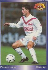 N°026 PHILIPPE LUCAS # FRANCE GIRONDINS BORDEAUX CARD CARTE PANINI FOOT 1995
