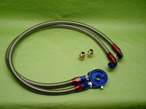 Burstflow Universel Radiateur D'Huile Kit Anschlusssatz AN10 Pour Vwaudi BMW