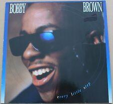"BOBBY BROWN - Every little step - MAXI LP VINYL 12"" 45 RPM 1989 VG+ / VG- COND."