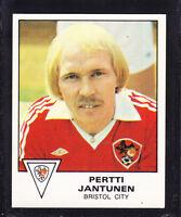Panini - Football 80 - # 79 Pertti Jantunen - Bristol City