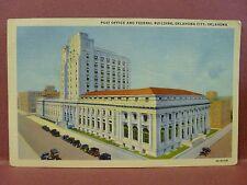 Old Postcard OK Oklahoma City Post Office & Federal Building