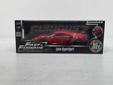 New Jada Fast and Furious 7 Red Lykan Hypersport 1:18 Scale buy it now 49.99