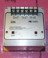 MOORE INDUSTRIES PAC 5A 4 20MA S 120AC CAL (SM) PAC AC Current Transducer
