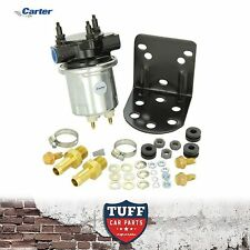 Carter 4600 Silver Electric Fuel Pump P4600HP Holley Alternative 100GPH 6-8 PSI