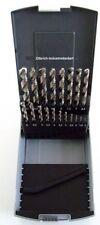 Bohrerkassette 19tlg. Metallbohrer Set 1-10mm Bohrer-Kassette Kunststoffkassette